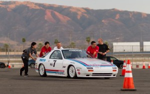 Racing Beat RX-7 Bonneville Land Speed Record RX-7